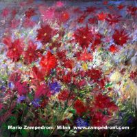 Red Flowers by zampedroni