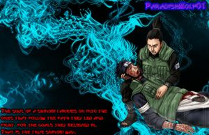 Shikamaru and Asuma by Paradisewolf01