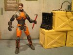 Gordon freeman Action Figure by Taylor-made