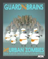 Urban Zombies: i.e. Liberals by Conservatoons