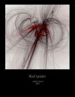 Red spider by SfinxMagnum by DeviousFractals