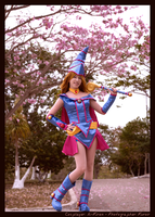 Dark Magician Girl - Spring by Ai-Kiren