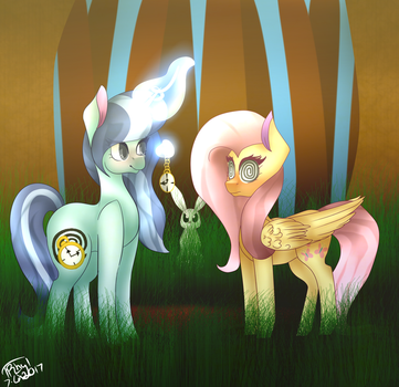 [C] Dr Spiral Swirl Meets Fluttershy by TheRealhyhyhyhy1