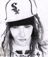 Tom Kaulitz 2 by cindy-drawings