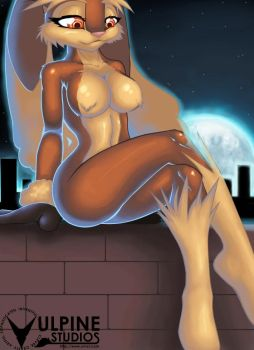 Moonlit Lopunny by tailsrulz