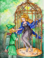 The Bird and the Archer by FireFiriel