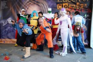 DBZ Group by DreamingCosplayers