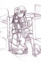 Bus Ride Home by chibiloner
