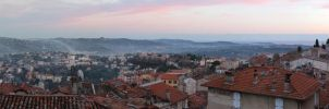 French Riviera Panorama by Danelp