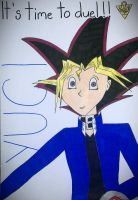 Yugi - It's time to duel by Shadow--9