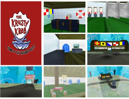 MMD Krusty Krab Stage Download by SachiShirakawa