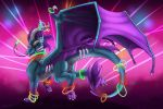 BDay Gift : Queen of the Rave by WeirdHyena