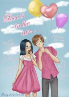 Love is in the air... by Maemy