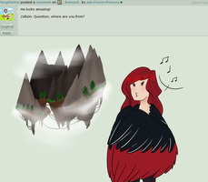 Q96: Floating rocks by Ask-Poison-Princess