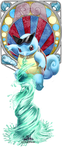 Squirtle Bookmark by myuinhiding