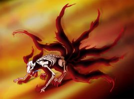 6 tails fox by stuess