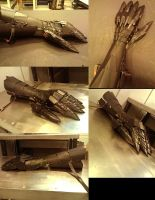 Nazgul gauntlets by PetuGee