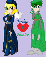 Jordan and Hunter by TFSDBZA