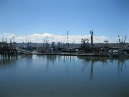 Bay front at New port Oregon by TMNT224