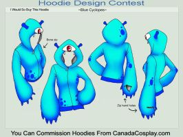 Cyclopes Hoodie by A-R-T-3-M-I-S