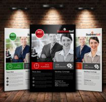A4 Multi Use Business Flyer by Designhub719