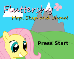 Fluttershy Hop, Skip and Jump! by Pekusiili