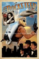 The Rocketeer poster for sale by smalltownhero