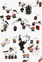 attack of the microchibis by Rizu-chan13