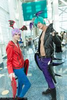 Morrigan and Lilith Genderbend by Kiefer-Ramius