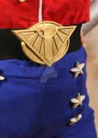 Wonder Woman Belt - 3D printed by NeedtoDestroy
