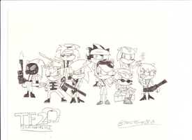 Team Fortress 2 Sketch by sonic4ever760