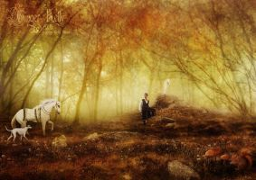 In the Forest of Avalon by GingerKellyStudio