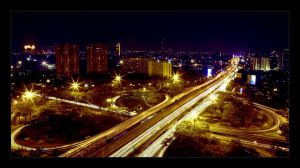 CITYSCAPE: Jakarta at Night 1 by brumie