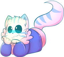 Cheshire cat sans lol by AmbyIsTrash