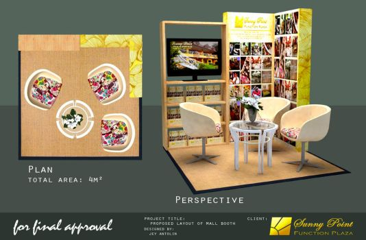 SUNNY POINT FUNCTION PLAZA MALL BOOTH - for final by rj-king