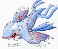 Kyogre X by CelestialTentails