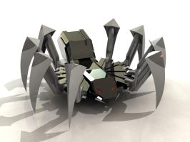 Mechadon Spider by yamis