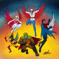 GATCHAMAN by FindingOx