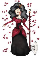 Queen of Hearts by Tenshidream