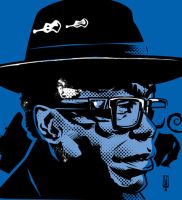 John Lee Hooker by LawrenceChristmas