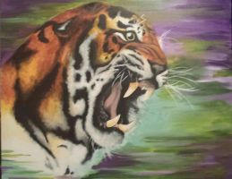 Tiger by Rebecca-Leigh