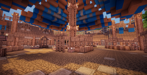 Minecraft Market Place by aquaarmor