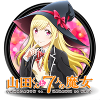 Yamada-kun to 7-nin no Majo Circle Icon by Knives by knives1024