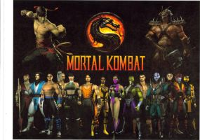 Mortal Kombat Fighters by The37thChamber