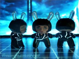 Quorra Dunny from Tron Legacy by artmik