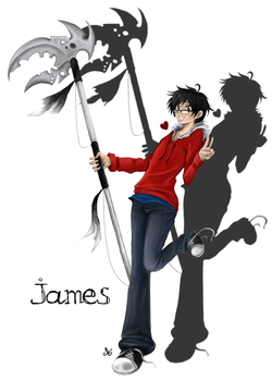Anime World Commission: James by ImperfectEclipse