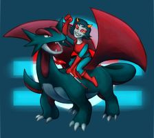 Terezi's Noble Steed by unistar2000
