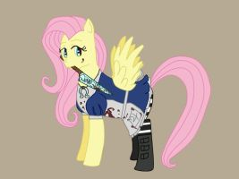 Fluttershy Alice WiP by WhiskeyRose
