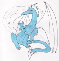 Jack Frost Dragon by 2faced-rider