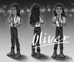 Oliver ref commission by BabaKinkin
